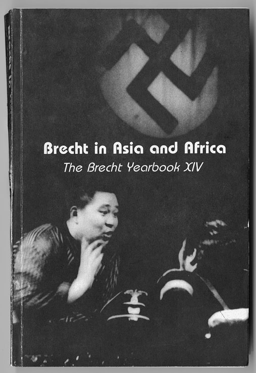 Image for Brecht in Asia and Africa: the Brecht Yearbook XIV