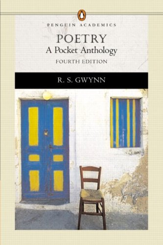 Image for Poetry: A Pocket Anthology (Penguin Academics Series) (4th Edition)