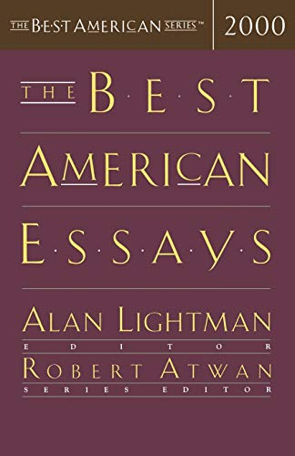 Image for The Best American Essays 2000 (The Best American Series)