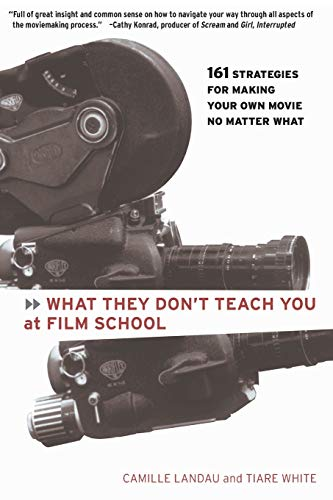 Image for What They Don't Teach You at Film School: 161 Strategies For Making Your Own Movies No Matter What