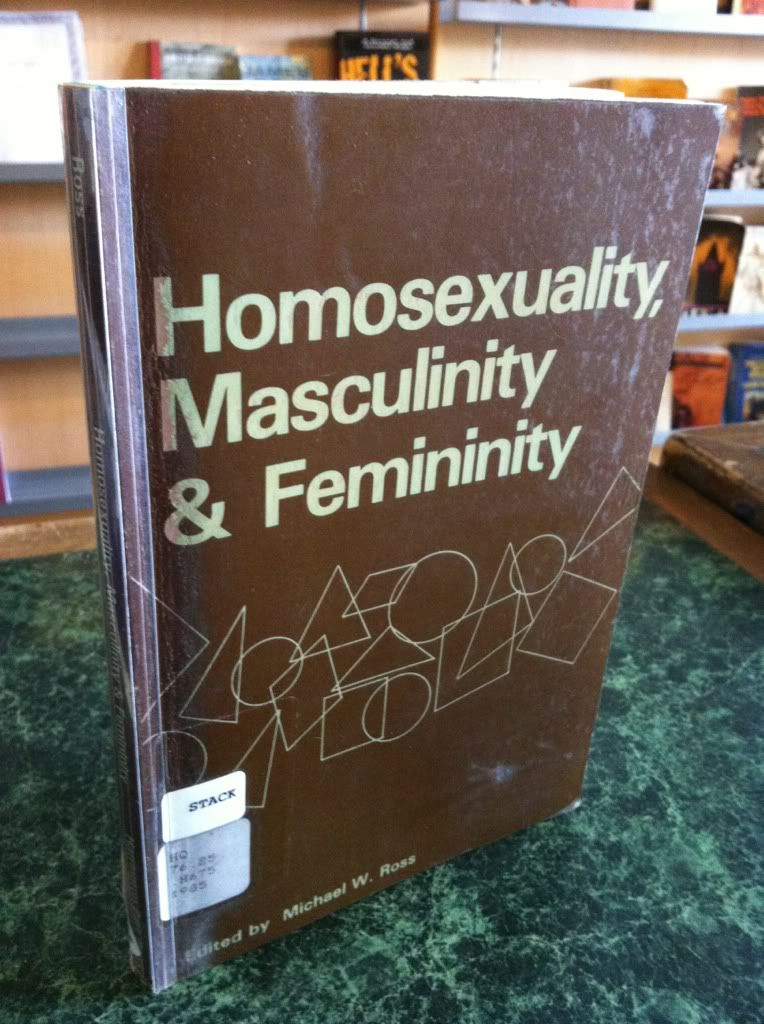 Image for Homosexuality, Masculinity, and Femininity