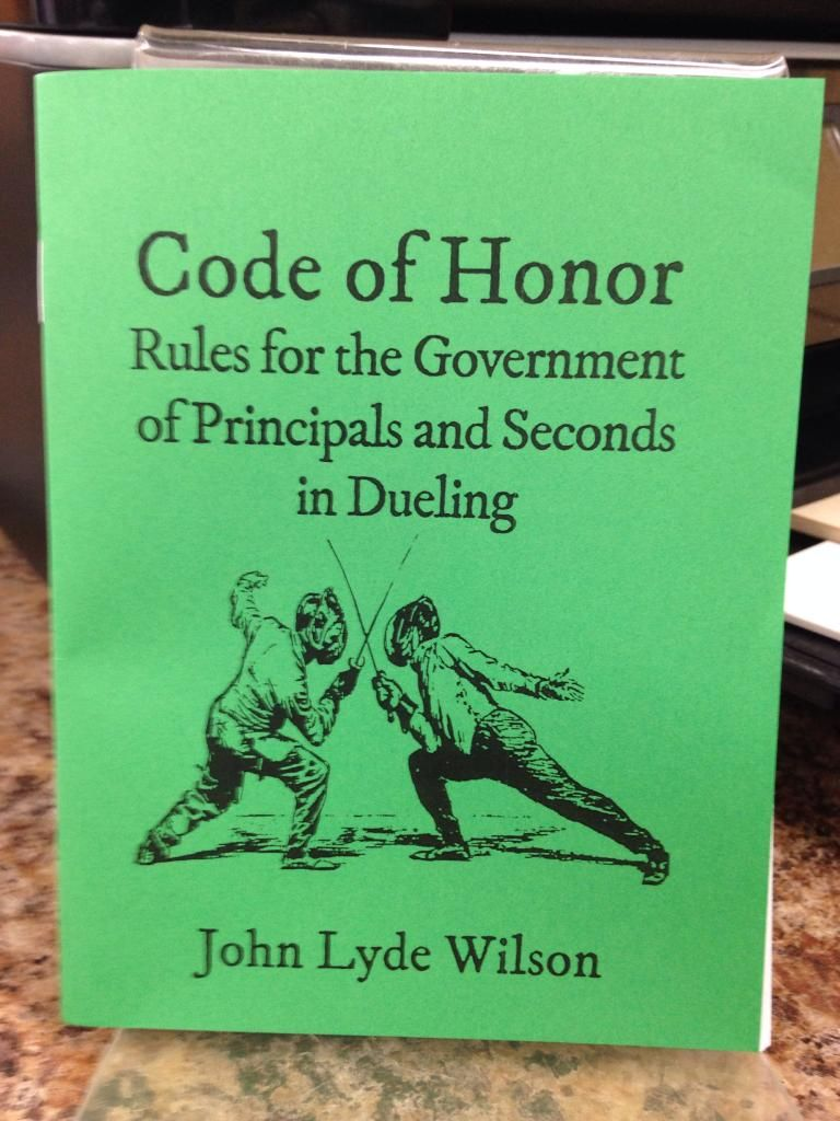 Image for Code of Honor by John Lyde Wilson