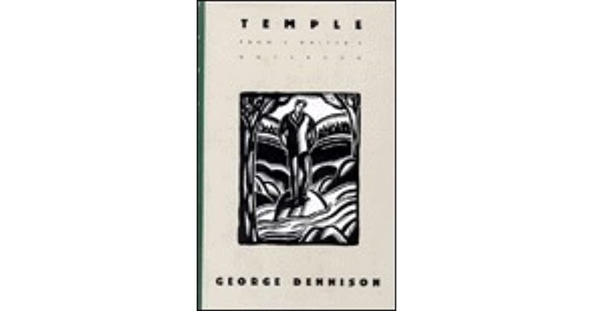 Image for Temple: From a Writer's Notebook
