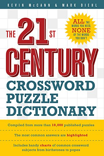 Image for The 21st Century Crossword Puzzle Dictionary