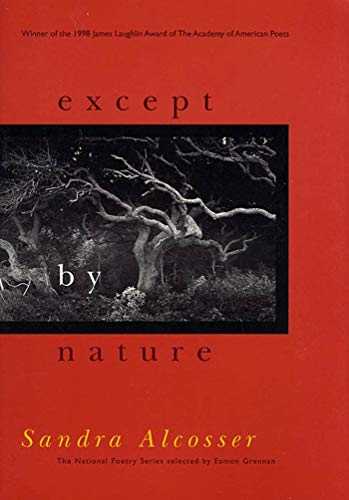 Image for Except by Nature (National Poetry Series)