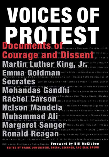 Image for Voices of Protest!: Documents of Courage and Dissent