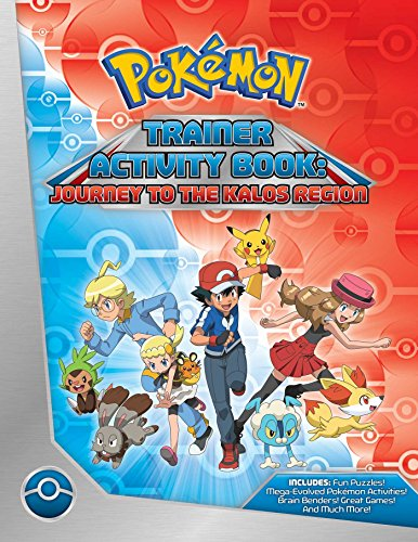 Image for Pokemon Trainer Activity Book: Journey to the Kalos Region