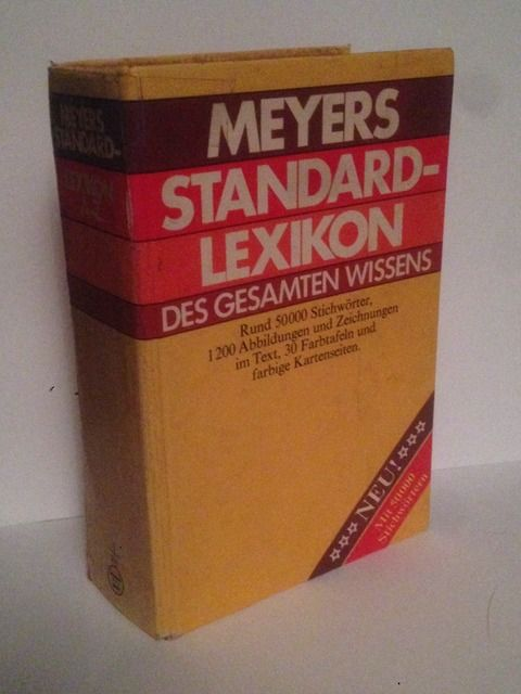 Image for Meyers Standard-Lexikon des gesamten Wissens (German Edition)