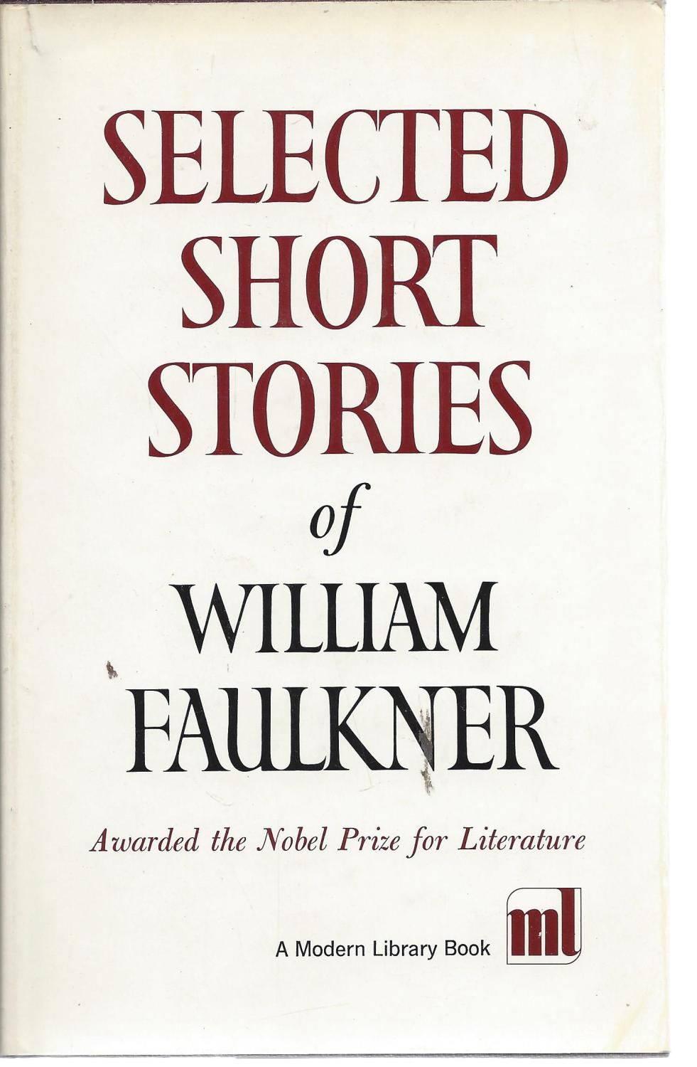 Image for Selected Short Stories of William Faulkner (Modern Library, 324.1)