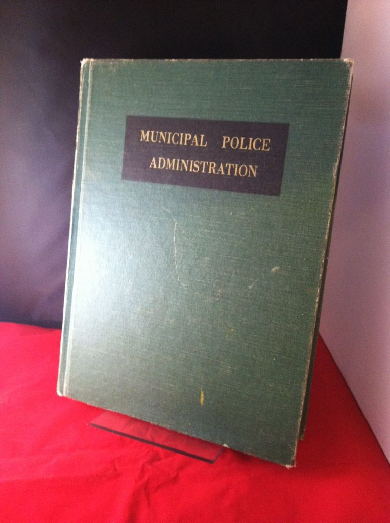 Image for Municipal Police Administration