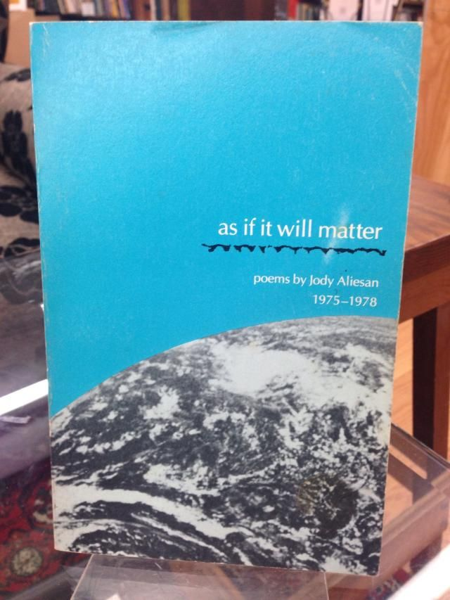 Image for As If It Will Matter