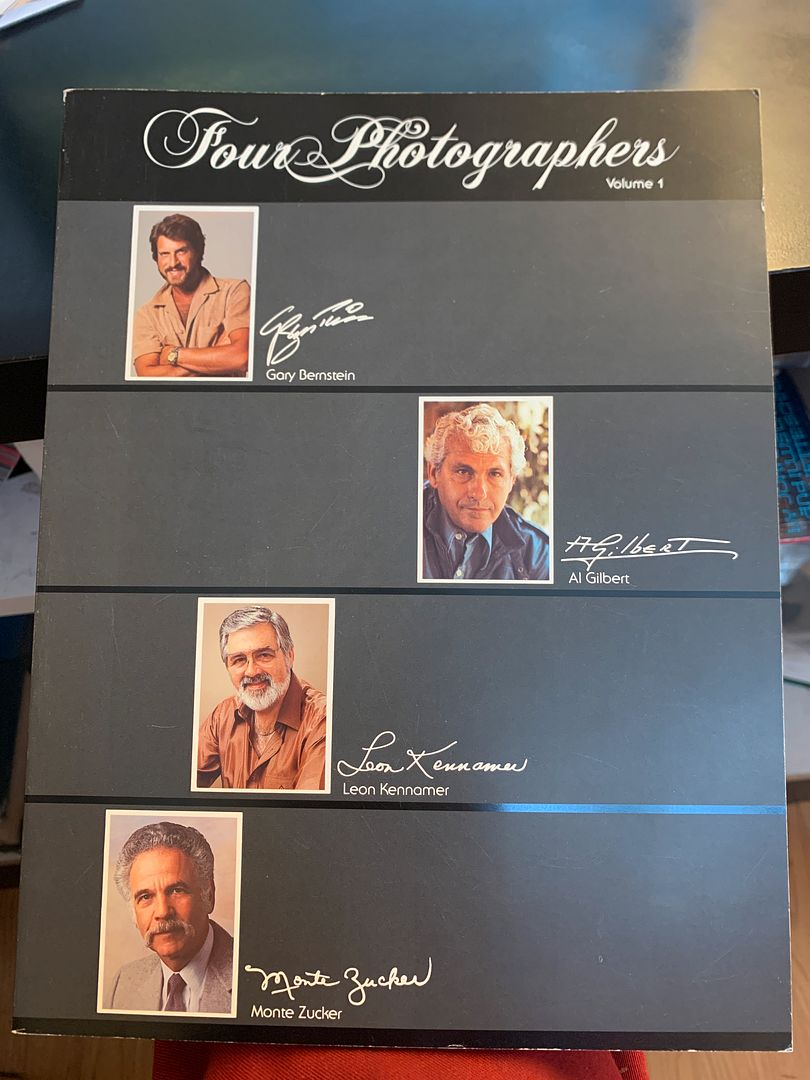 Image for Four Photographers, Vol. 1: Gary Bernstein, Al Gilbert, Leon Kennamer, Monte Zucker