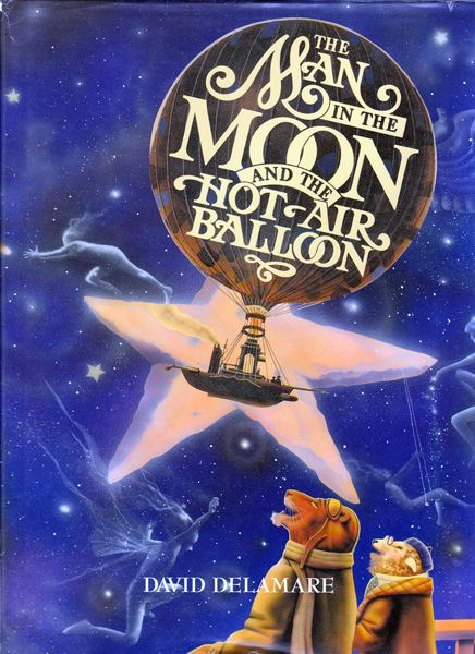 Image for The Man in the Moon and the Hot Air Balloon