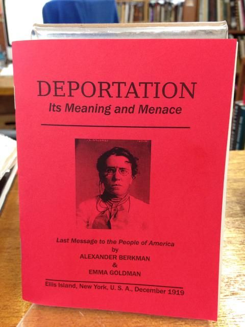 Image for Deportation by Emma Goldman