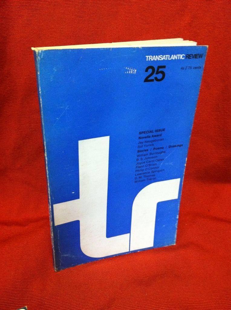 Image for The Transatlantic Review: Number 25, Summer 1967