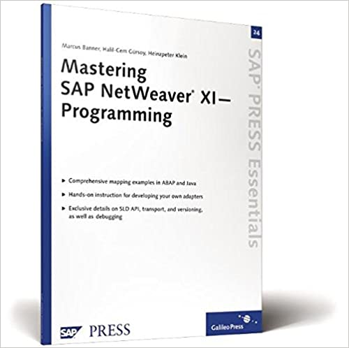 Image for Mastering SAP NetWeaver XI?Programming: SAP PRESS Essentials 24
