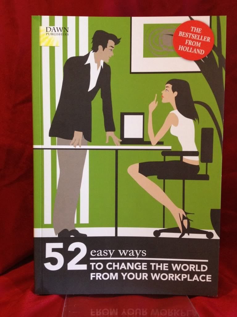 Image for 52 easy ways to change the world from your workplace