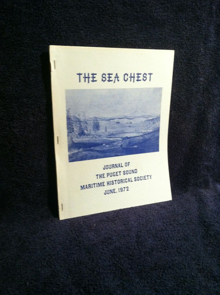 Image for The Sea Chest, June, 1972: Journal of The Puget Sound Maritime Historical Society