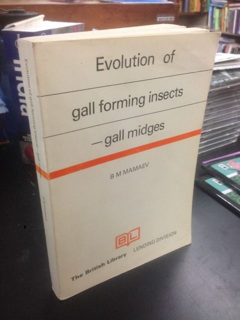Image for Evolution of gall forming insects, gall midges