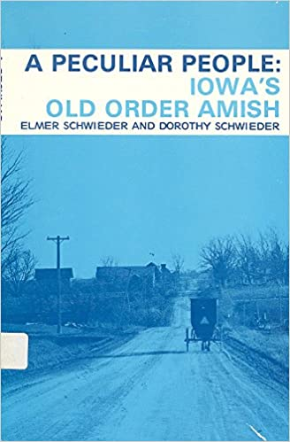 Image for A peculiar people: Iowa's old order Amish