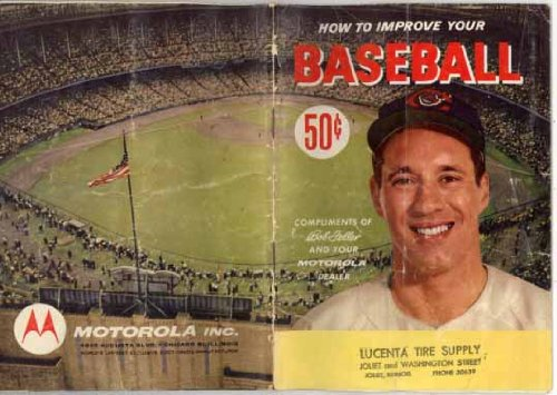 "Image for How To Improve your Baseball (Bob Feller cover) ""The Athletic Institute)"