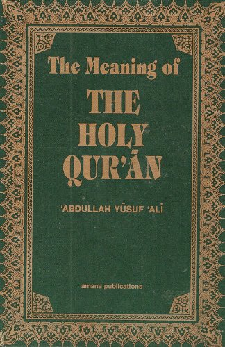 Image for The Meaning of the Holy Qur'an (pocket size)
