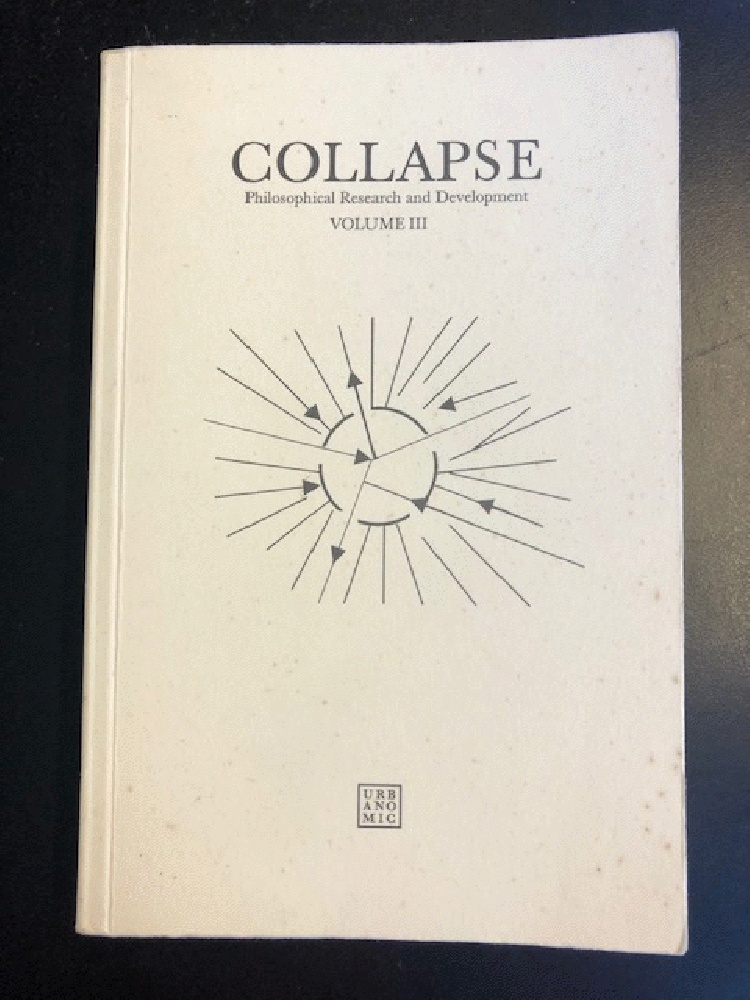 Image for Collapse (v. 3)