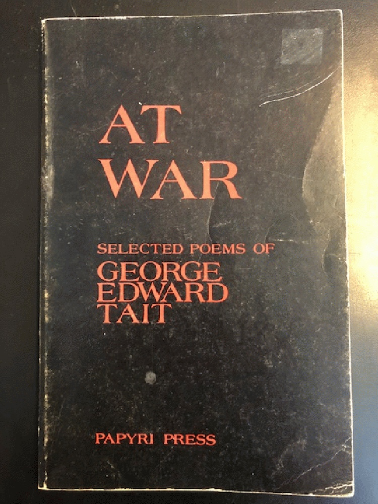 Image for AT War: Selected Poems By George Edward Tait