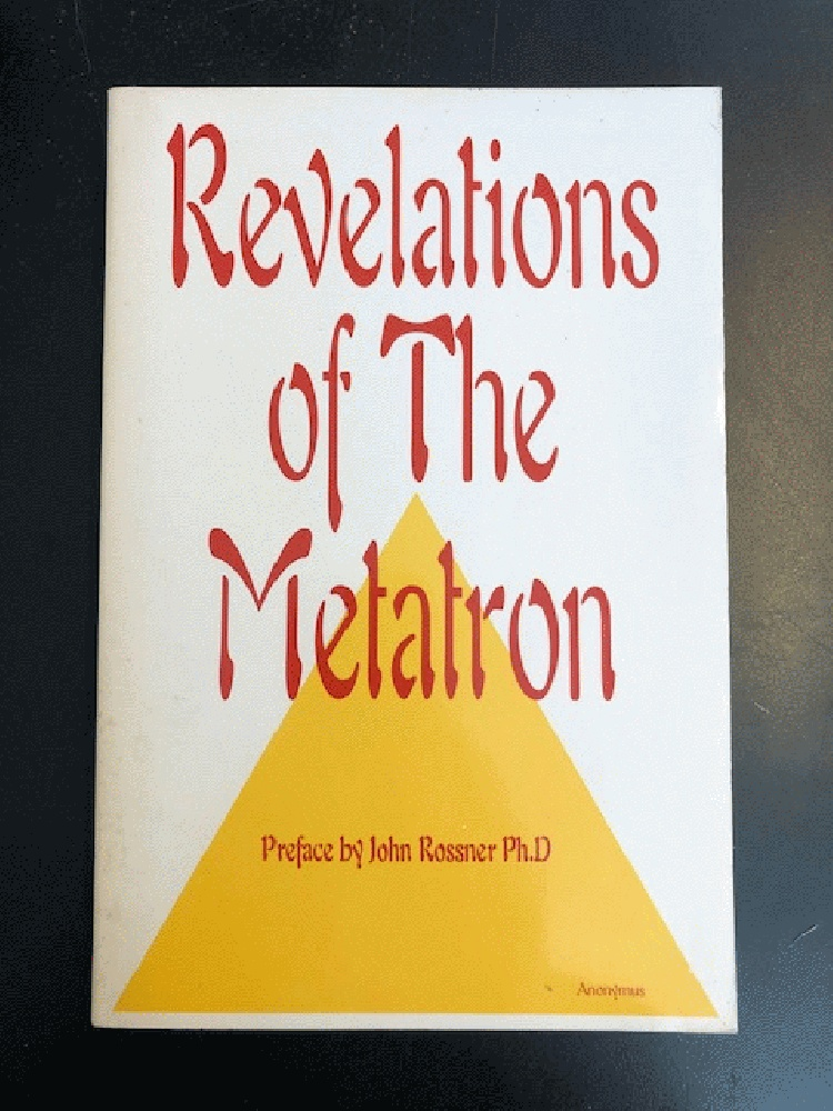 Image for Revelations of the Metatron