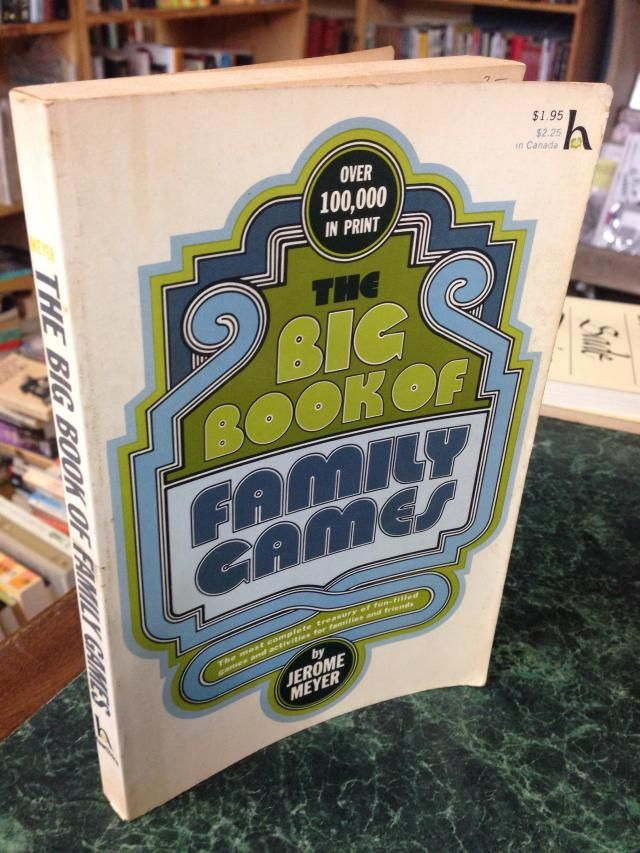 Image for Big Book of Family Games (The)