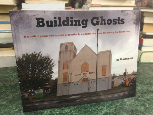 Image for Building Ghosts: A month of empty commercial properties in a capital city, and the history that haunts them