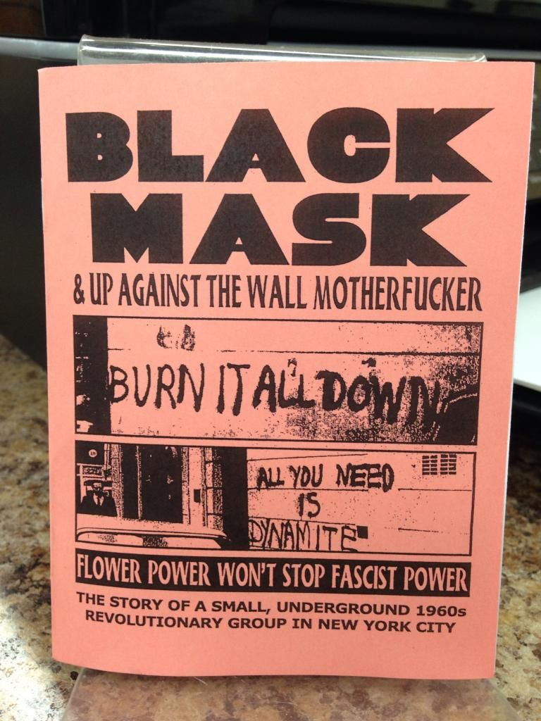 Image for Black Mask & Up Against the Wall Motherfuck by Anonymous