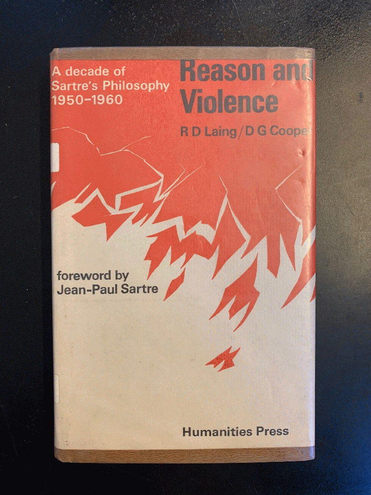 Image for Reason and Violence a Deacde of Sartre's Philosophy 1950-1960