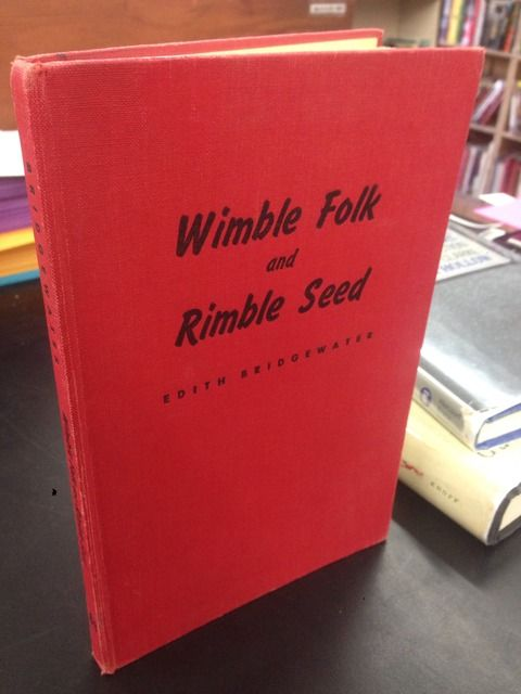 Image for Wimble folk and rimble seed