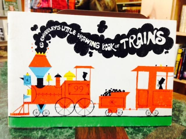 Image for Ed Emberly Little Drawing Book of Trains