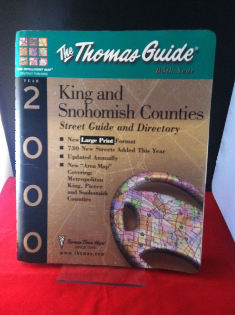 Image for The Thomas Guide 2000 King Snohomish County