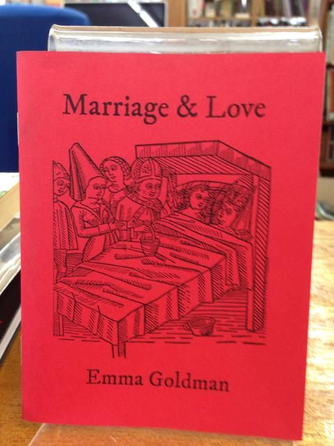 Image for Marriage & Love by Emma Goldman