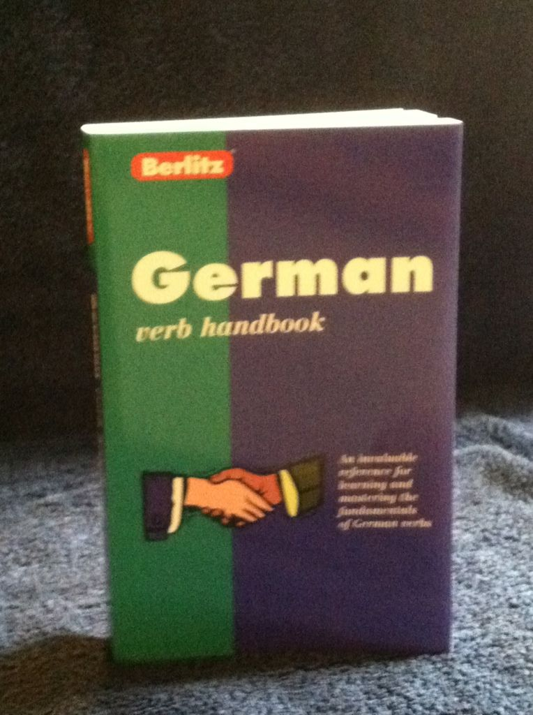 Image for German Verb Handbook (Berlitz Language Handbooks) (German Edition)