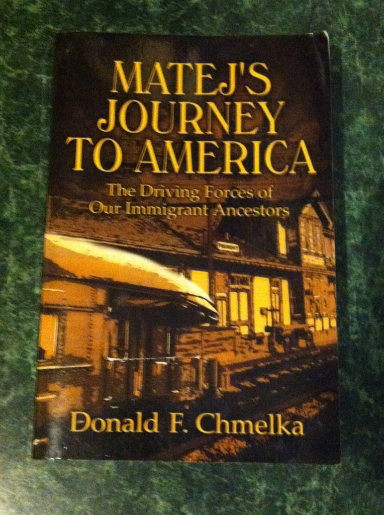 Image for Matej's Journey to America: The Driving Forces of Our Immigrant Ancestors