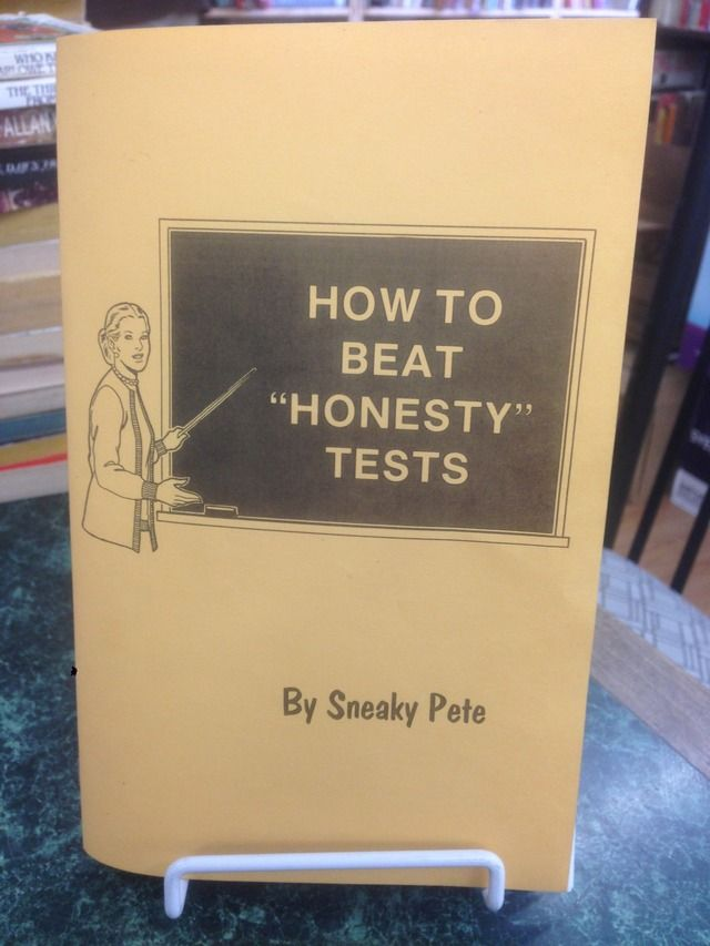 "Image for How to Beat ""Honesty"" Tests"
