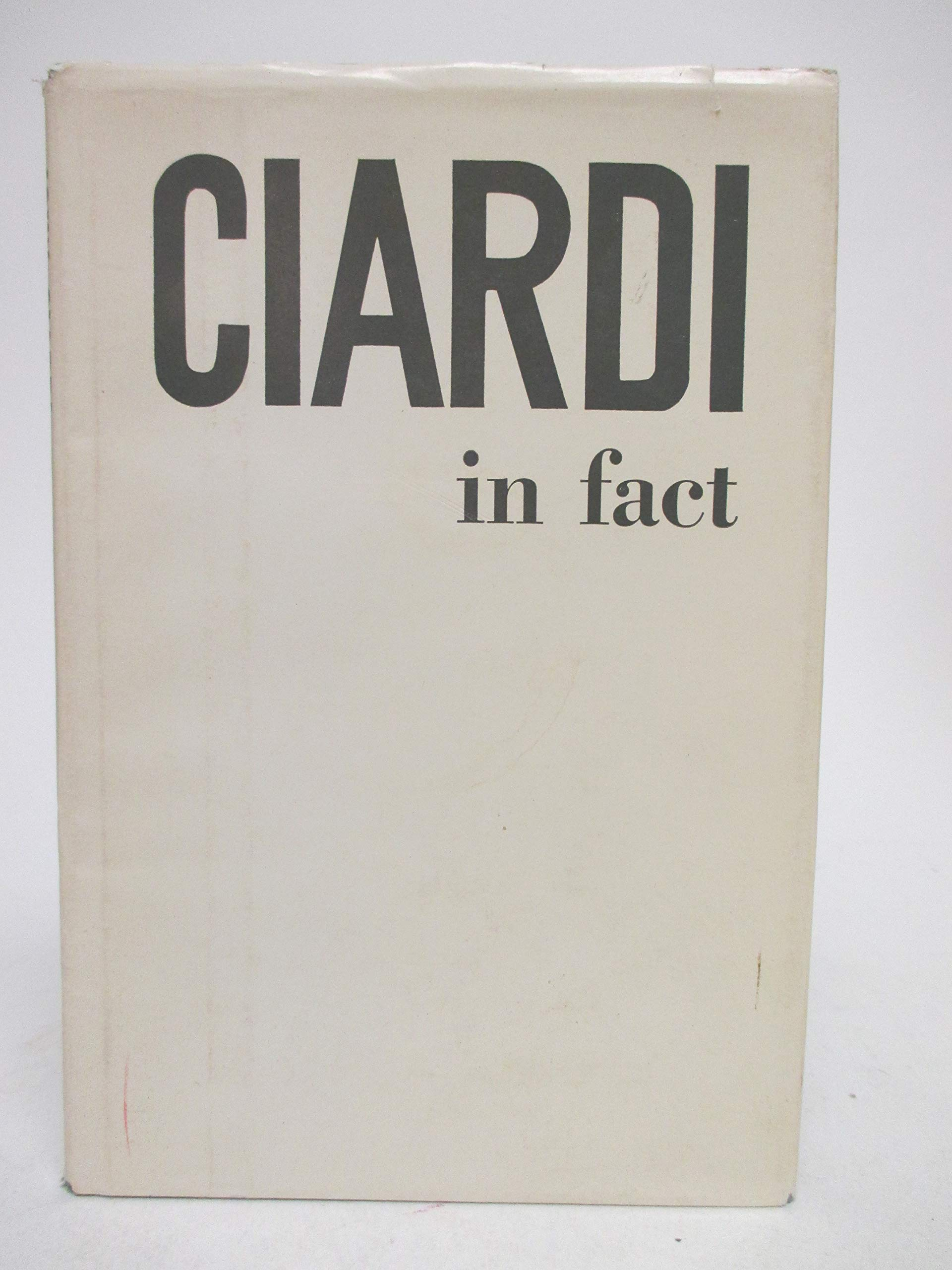 Image for Ciardi In Fact