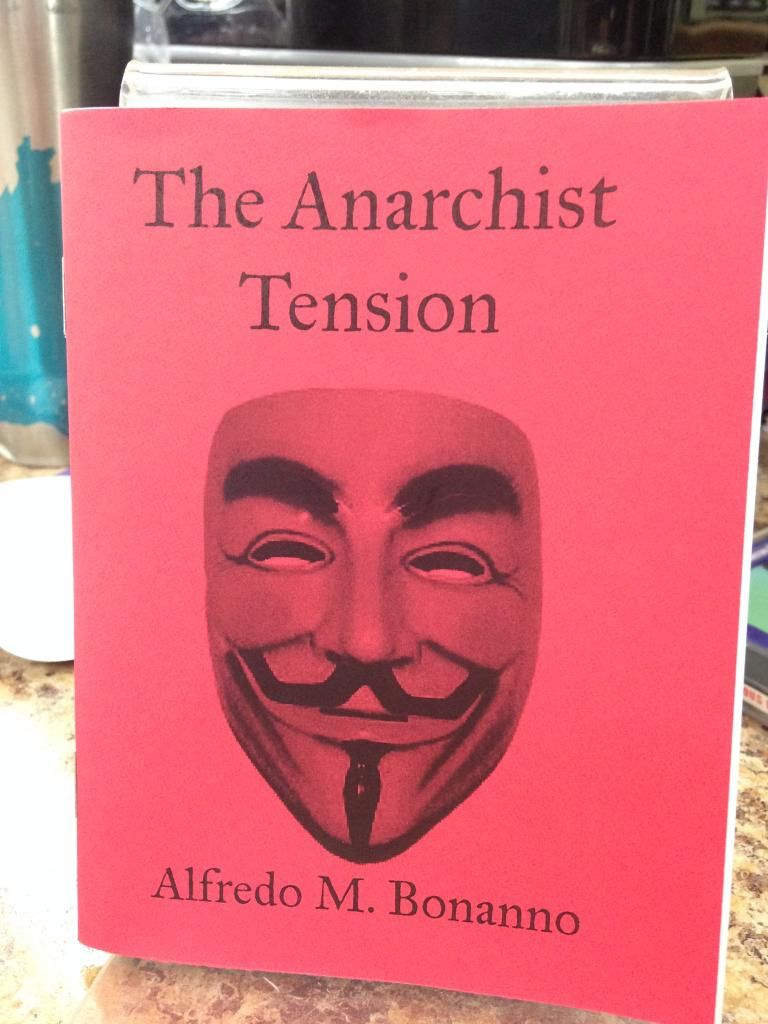 Image for Anarchist Tension by Alfredo M. Bonanno