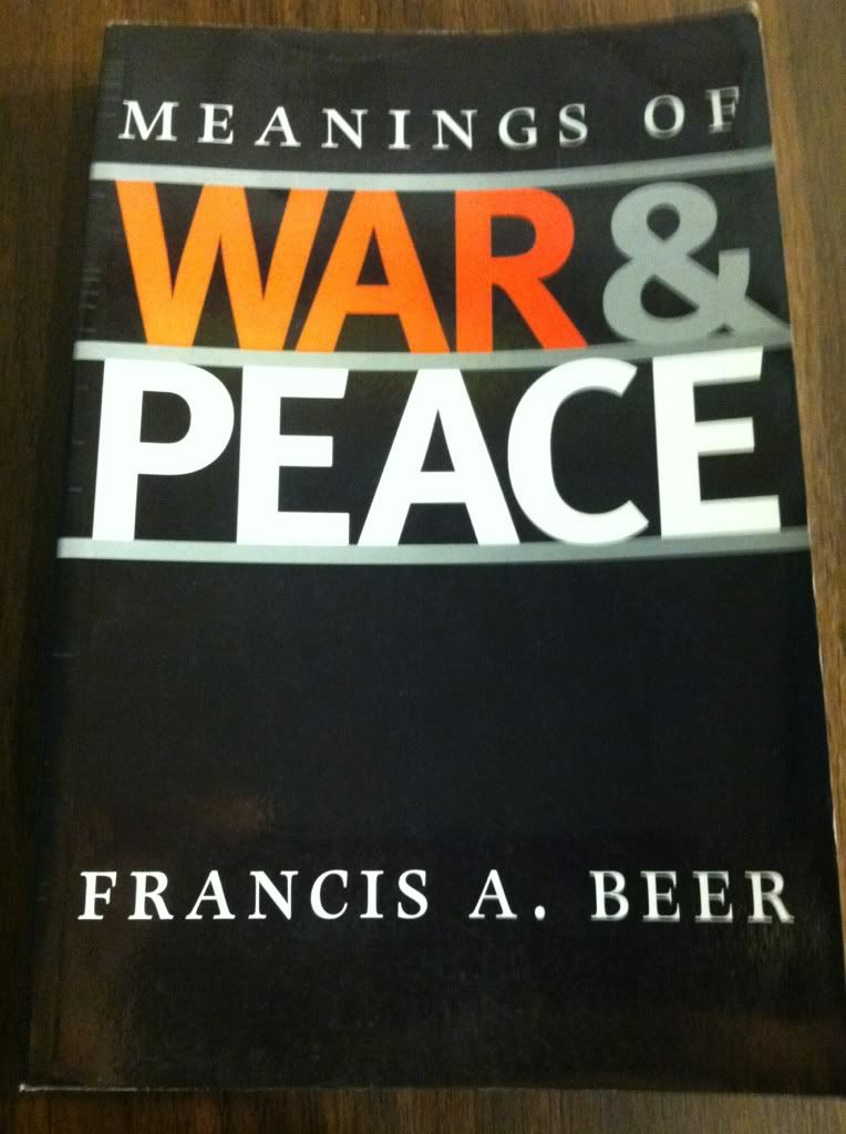 Image for Meanings of War and Peace