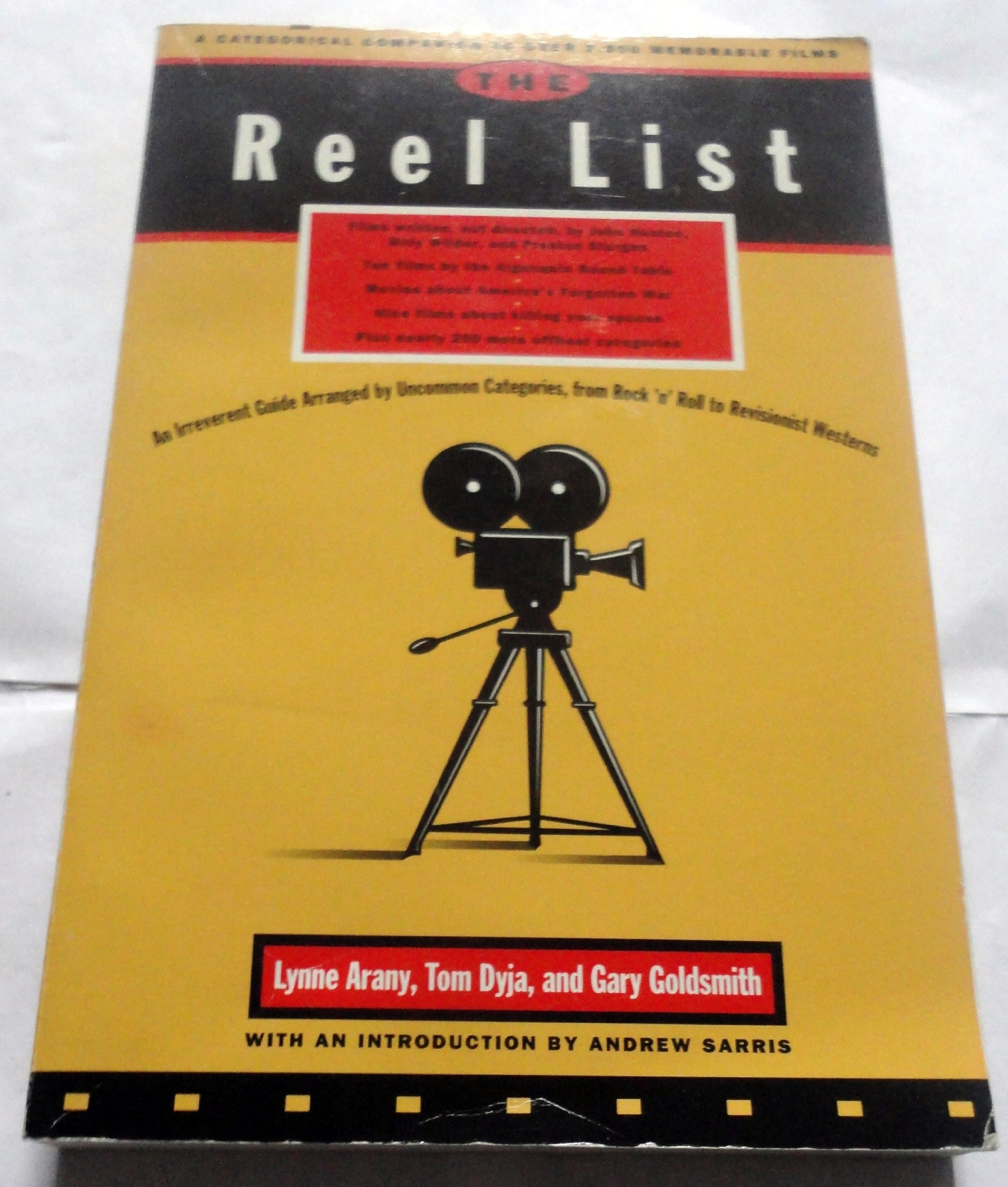 Image for The Reel List: A Categorical Companion to Over 2,000 Memorable Films