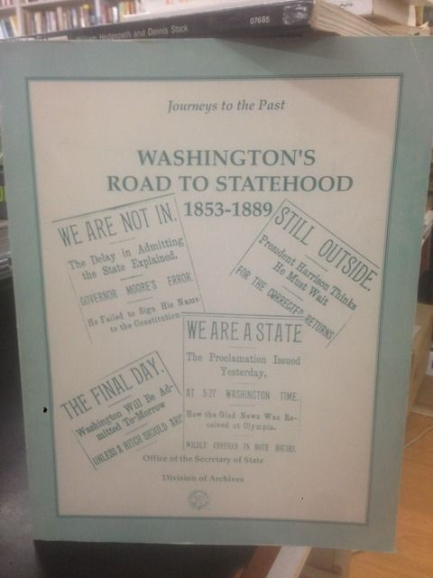 Image for Washington's Road to Statehood 1853-1889