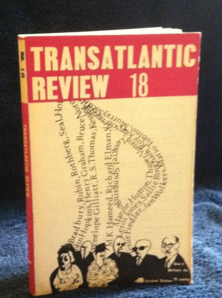 Image for TRANSATLANTIC REVIEW 18 SPRING 1965