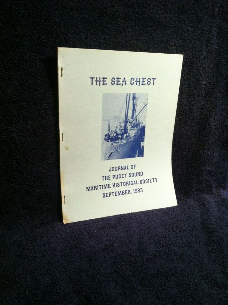 Image for The Sea Chest, September, 1983: Journal of The Puget Sound Maritime Historical Society