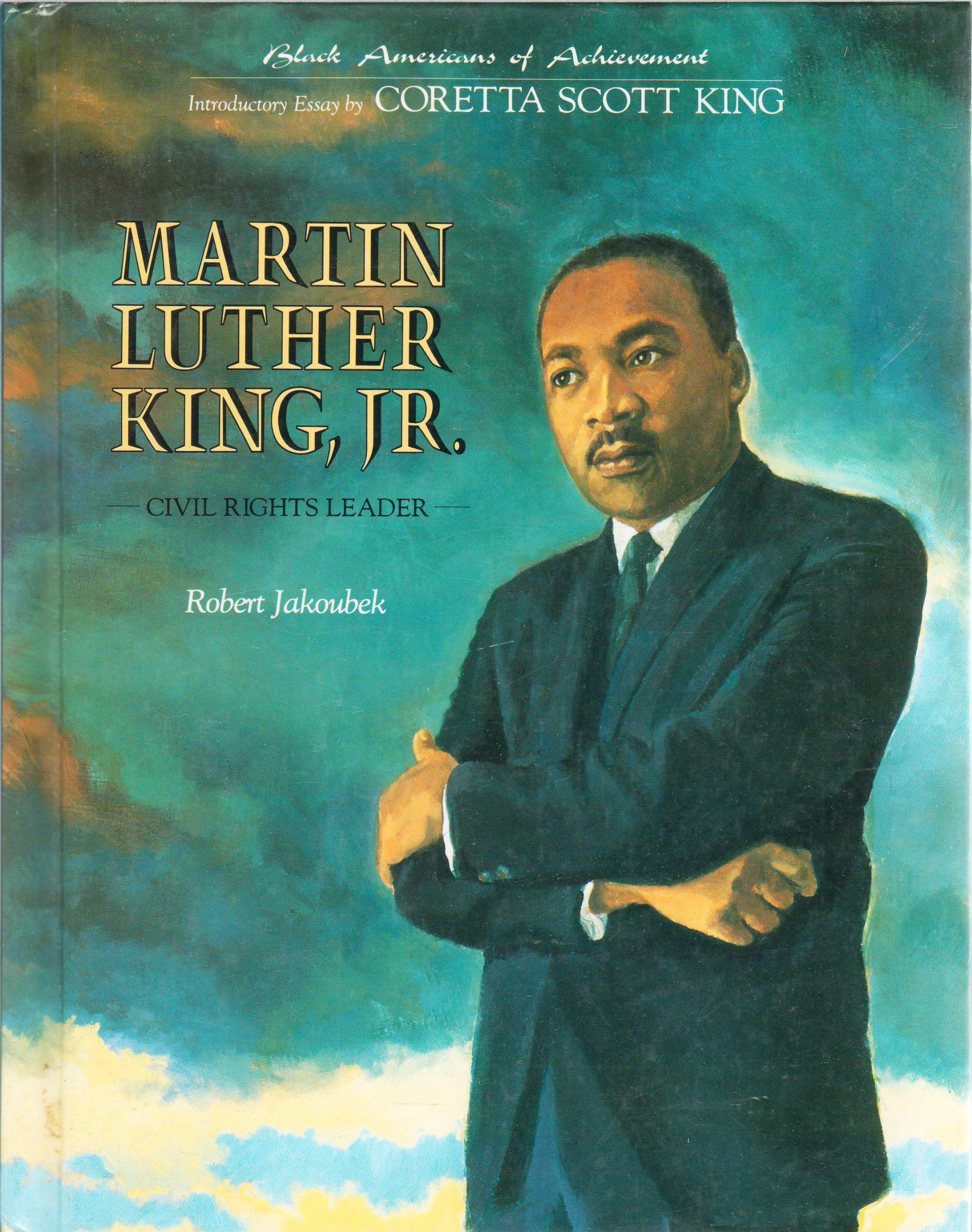 Image for Martin Luther King, Jr. (Black Americans of Achievement)