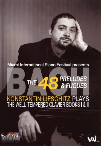Image for Konstantin Lifschitz Plays Bach: The Well-Tempered Clavier Books I & II