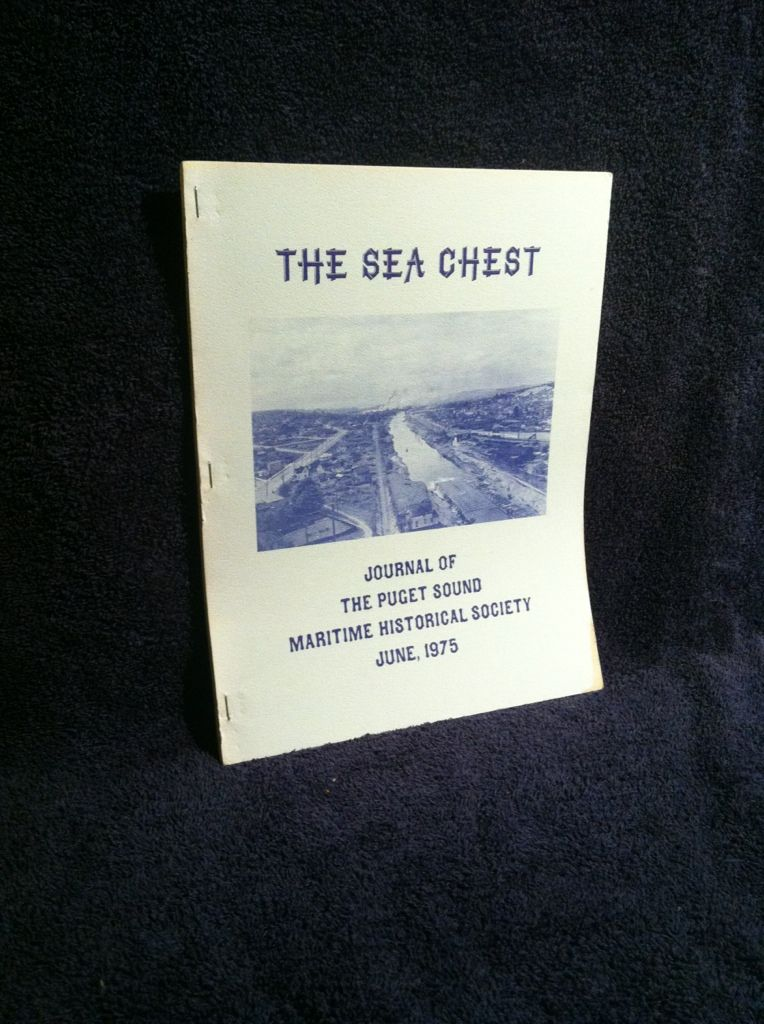 Image for The Sea Chest, June, 1975: Journal of The Puget Sound Maritime Historical Society